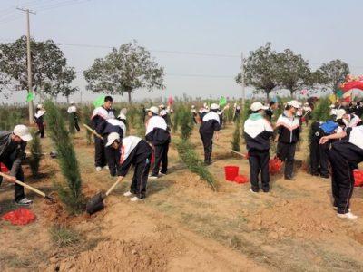 母なる大河、黄河を守ろう!「日中青年陜西省黄河台地生態緑化事業」がスタート
